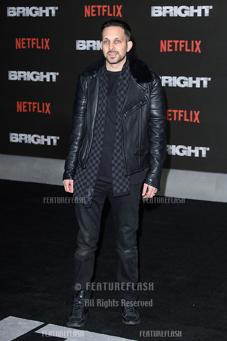 Dynamo at the European premiere for &quot;Bright&quot; European premiere at the BFI South Bank, London, UK. <br /> 15 December  2017<br /> Picture: Steve Vas/Featureflash/SilverHub 0208 004 5359 sales@silverhubmedia.com