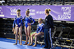 Womens Team Competition and Olympic Trial. 13.3.16. Emirates Arena Glasgow.