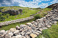 Photo of  the  Palace Walls to the Hittite capital Hattusa 2