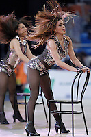 ACB's cheerleaders during Spanish Basketball King's Cup semifinal match.February 07,2013. (ALTERPHOTOS/Acero)
