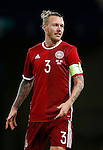 Simon Kjaer of Denmark during the Vauxhall International Challenge Match match at Hampden Park Stadium. Photo credit should read: Simon Bellis/Sportimage