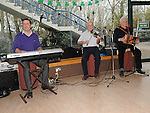 Oliver Reilly, Paddy Reilly and Tom Duff provided the music at the ceilí and set dancing at Brú na Boinne. Photo: Colin Bell/pressphotos.ie