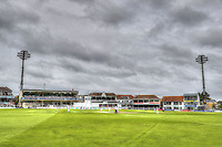 HDR artistic view of the St Lawrence ground during the County Championship Division Two game between Kent and Northants at the St Lawrence ground, Canterbury, on Sept 4, 2018.