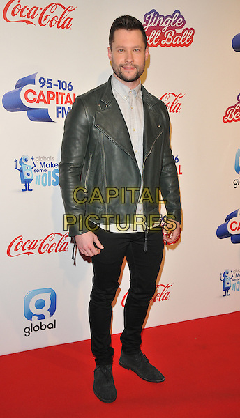 Calum Scott at the Capital FM Jingle Bell Ball, The London O2 Arena, Peninsula Square, London, England, UK, on Saturday 03 December 2016. <br /> CAP/CAN<br /> &copy;CAN/Capital Pictures