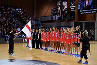 International Netball - NZ Silver Ferns v England Roses at Te Rauparaha Arena, Porirua, New Zealand on Thursday 7 September 2017.<br /> Photo by Masanori Udagawa. <br /> www.photowellington.photoshelter.com