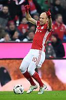 Fussball  1. Bundesliga  Saison 2016/2017  16. Spieltag  FC Bayern Muenchen - RB Leipzig        21.12.2016 Arjen Robben (FC Bayern Muenchen)