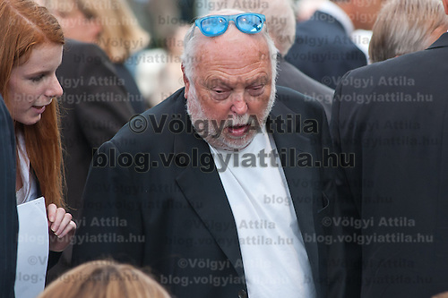 Andrew G Vajna attends the inauguration of the new statue of Ronald Reagan on the square named Freedom in Budapest, Hungary. Wednesday, 29. June 2011. ATTILA VOLGYI