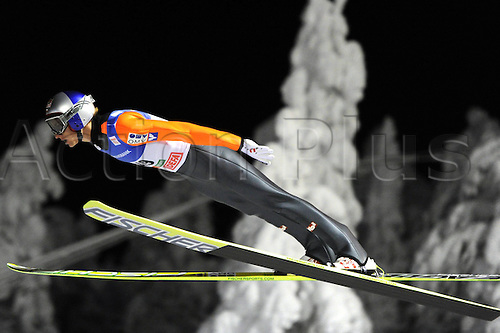 28 11 2010   Ski Nordic FIS WC Nordic Opening Kuusamo Finland 28 Nov 10 Ski Nordic Ski jumping FIS World Cup Nordic Opening Picture shows Gregor Schlierenzauer AUT