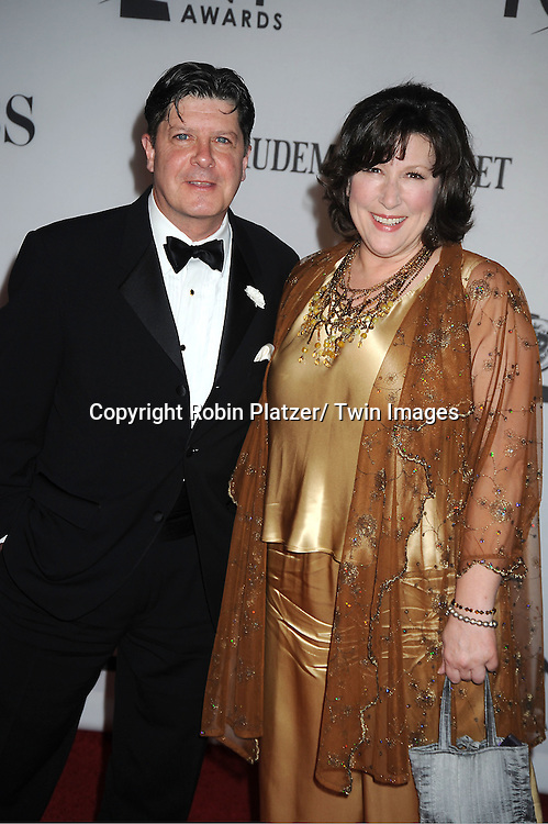 Mike McGrath and wife Toni attends th 66th Annual Tony Awards on June 10, 2012 at The Beacon Theatre in New York City.