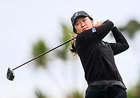 Rose Zheng. New Zealand Stroke Play Championships, Paraparaumu Golf Course, Paraparaumu Beach, Kapiti Coast, Saturday 24 March 2018. Photo: Simon Watts/www.bwmedia.co.nz