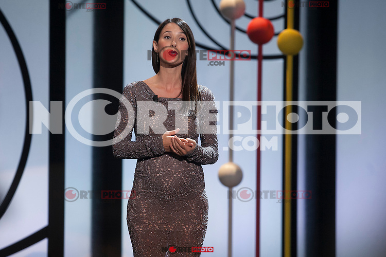 Spanish actress Barbara Goenaga during the 63rd Donostia Zinemaldia opening ceremony (San Sebastian International Film Festival) in San Sebastian, Spain. September 18, 2015. (ALTERPHOTOS/Victor Blanco) /NortePhoto.com