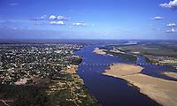 Boa Vista as margens do rio Branco em Roraima, Brasil<br /> Foto Marcello Lourenço