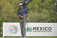 Patton Kizzire (USA) watches his tee shot on 18 during round 2 of the World Golf Championships, Mexico, Club De Golf Chapultepec, Mexico City, Mexico. 3/2/2018.<br /> Picture: Golffile | Ken Murray<br /> <br /> <br /> All photo usage must carry mandatory copyright credit (&copy; Golffile | Ken Murray)