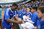 Reno 1868 FC competes in a friendly match against the San Jose Earthquakes at Greater Nevada Field in Reno, Nev., on Saturday, Feb. 18, 2017.<br /> Photo by Cathleen Allison/Nevada Photo Source