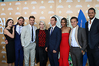 LOS ANGELES - JUN 8:  Actress Molly Gordon, actor Jake Weary, actor Scott Speedman, actress Ellen Barkin, actor Shawn Hatosy, actress Daniella Alonso, actor Finn Cole and actor Ben Robson at the Animal Kingdom Premiere Screening at the The Rose Room on June 8, 2016 in Venice Beach, CA