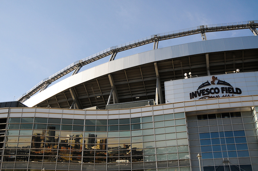 14 NOVEMBER 2010:  A general view of Invesco Field (now Sports Authority Field) at mile high before a regular season National Football League game between the Kansas City Chiefs and the Denver Broncos at Invesco Field at Mile High in Denver, Colorado. The Broncos beat the Chiefs 49-29.