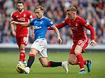28.09.2018 Rangers v Aberdeen: Greg Stewart and Lewis Ferguson