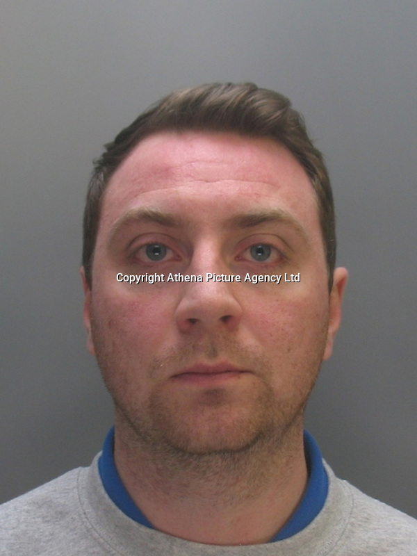 """Pictured: Undated custody picture of David Wyn Cashman<br />Re: Ten people have been sentenced for defrauding four pensioners from north Wales out of hundreds of thousands of pounds for non existent, poor or unnecessary building work.<br />They defrauded one person out of £650,000 and another victim was the late grandmother of actor Jude Law.<br />Meinwen Parry, 89, who died in March 2015, had paid out £60,000 for work which should have cost about £3,500.<br />Sentencing took place at Caernarfon Crown Court on Friday.<br />Judge Huw Rees said the level of greed was outstanding.<br />Stephen Jones, 38, from Llangefni, Anglesey, targeted Ms Parry's home at Bangor, Gwynedd.<br />He and Bedwyr Roberts, 35, from Bangor, also took £650,000 in life-savings from cancer patient John Bates between 2009-16, the court heard.<br />They were jailed for eight and six years respectively.<br />The offences centred around """"extortionate"""" costs for roofing and building work undertaken in the Anglesey, Bangor and Conwy areas, said North Wales Police. The other defendants sentenced were:"""