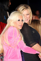 Angelique Morgan, Frenchy, Claire King at The Celebrity Big Brother final<br /> Borehamwood. 12/09/2014 Picture by: James Smith / Featureflash