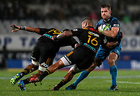 Michael Collins of the Blues during the Super Rugby Match between the Blues and the Chiefs at Eden Park in Auckland, New Zealand on Friday, 26 May 2017. Photo: Simon Watts / www.lintottphoto.co.nz