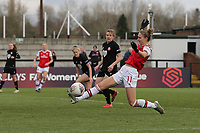 Vivianne Miedema of Arsenal goes close during Arsenal Women vs Bristol City Women, Barclays FA Women's Super League Football at Meadow Park on 1st December 2019