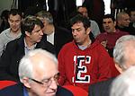 FUDBAL, BEOGRAD, 22. Dec. 2012. - Kiki Lesandric. Sednica skupstine Crvene zvezde na kojoj je izabrano novo rukovodstvo na celu sa Draganom Dzajicem.  Foto: Nenad Negovanovic