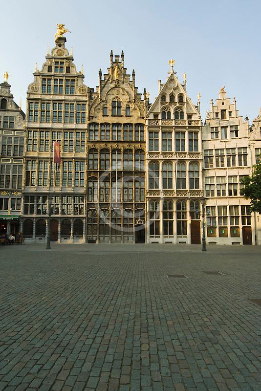 Belgium, Antwerp, Grote Markt, Guild houses