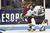 Anthony Aiello, Brad Cooper - The Boston College Eagles defeated the Providence College Friars 4-1 on Saturday, January 7, 2006, at Schneider Arena in Providence, Rhode Island.