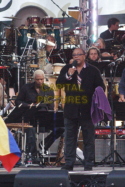 QUINCY JONES.We Are The Future Concert.May 17th, 2004.stage, concert, gig, live, music.www.capitalpictures.com.sales@capitalpictures.com.© Capital Pictures.