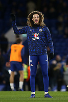 Ethan Ampadu of Chelsea in the pre-match warm up during Chelsea vs Newcastle United, Premier League Football at Stamford Bridge on 12th January 2019