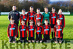 The St Brendans Park team that played Killarney Athletic in the u12 league in Killarney on Saturday