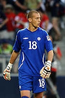 Milan Borjan goalkeeper  Canada..Canada and Panama tied 1-1 in Gold Cup play at LIVESTRONG Sporting Park, Kansas City, Kansas.