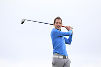William Russell (Clandeboye) on the 16th tee during Round 2 of The East of Ireland Amateur Open Championship in Co. Louth Golf Club, Baltray on Sunday 2nd June 2019.<br /> <br /> Picture:  Thos Caffrey / www.golffile.ie<br /> <br /> All photos usage must carry mandatory copyright credit (© Golffile   Thos Caffrey)
