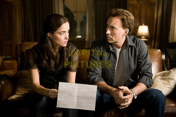 ROSE BYRNE & NICOLAS CAGE.in Knowing.Nicholas.*Filmstill - Editorial Use Only*.CAP/FB.Supplied by Capital Pictures.