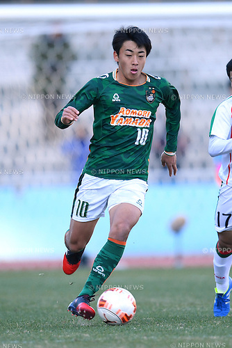 Issei Takahashi (), <br /> JANUARY 5, 2017 - Football / Soccer : <br /> 95th All Japan High School Soccer Tournament Quater Final between Shochi Fukaya 1-3 Aomori Yamada<br /> at Kawasaki Todoroki Stadium, Kanagawa, Japan.<br /> (Photo by AFLO SPORT)