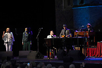LONDON, ENGLAND - JUNE 6: Jools Holland performing at Hampton Court Palace, on June 6, 2019 in London, England.<br /> CAP/MAR<br /> ©MAR/Capital Pictures