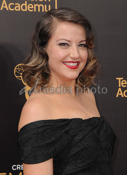 11 September 2016 - Los Angeles, California. Kathryn Burns. 2016 Creative Arts Emmy Awards - Day 2 held at Microsoft Theater. Photo Credit: Birdie Thompson/AdMedia
