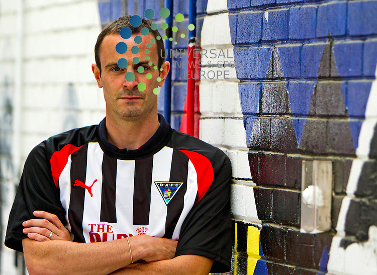 Dunfermline Ath Football Club .21-06-11...Dunfermlines new signing John Potter..At East End Park, Dunfermline...Picture, Craig Brown /Universal News and Sport (Scotland)..Tuesday 21st June 2011.