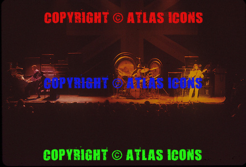 EMERSON LAKE AND PALMER, LIVE AND OFFSTAGE, EARLY 1970S, NEIL ZLOZOWER