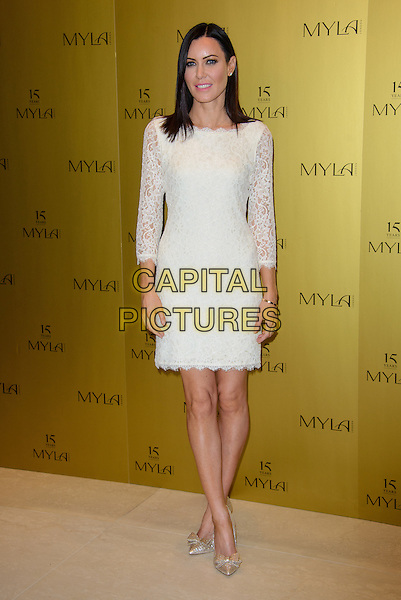 LONDON, ENGLAND - OCTOBER 21: Linzi Stoppard attends Myla 15th Anniversary Celebration Party at the Odeon Myla HQ, on October 21, 2014 in London, England. <br /> CAP/CJ<br /> &copy;Chris Joseph/Capital Pictures