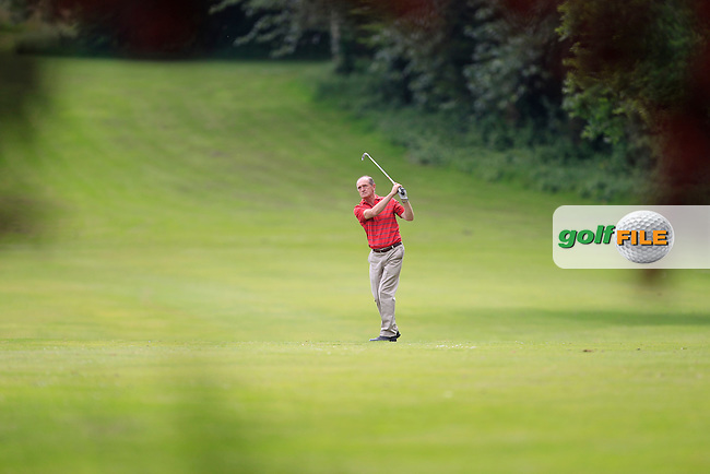 Barry O'Leary (Greystones) on the 7th fairway during Round 1 of the Leinster Seniors Amateur Open Championship at Enniscorthy Golf Club on Tuesday 23rd June 2015.<br /> Picture:  Thos Caffrey / www.golffile.ie