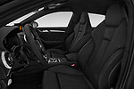 Front seat view of a 2018 Audi S3 Sportback Base 5 Door Hatchback front seat car photos