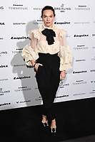 Anna Brewster<br /> arriving for the Esquire Townhouse 2019 launch party, London.<br /> <br /> ©Ash Knotek  D3528 16/10/2019