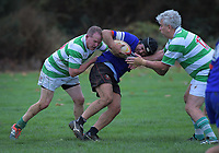 Action from the Waikato presidents grade club rugby match between Whatawhata and Hamilton Marist at Whatawhata Rugby Club in Whatawhata, New Zealand on Friday, 28 April 2018. Photo: Dave Lintott / lintottphoto.co.nz