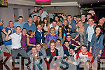 Tralee pals, Amy Jordan, Ballyard and Robert O'Shea, Spa Rd (seated 2nd and 3rd rt) had a massive time celebrating their 21st birthdays together in the Abbey Inn, Tralee along with many friends and family.