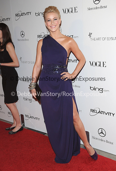 "Julianne Hough  attends the Art of Elysium 4th Annual Charity Gala ""Heaven"" held at The Annenberg Building at The California Science Center in Los Angeles, California on January 15,2011                                                                               © 2010 DVS / Hollywood Press Agency"