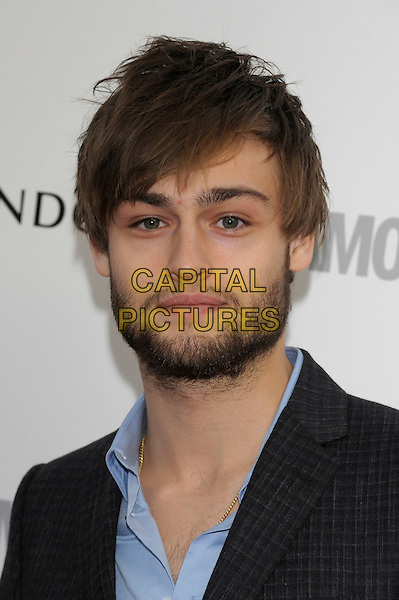 Douglas Booth.Women Of The Year 2012 - Glamour Awards, Berkeley Square, London, England..29th May 2012.Headshot portrait blue black beard facial hair .CAP/PL.©Phil Loftus/Capital Pictures.