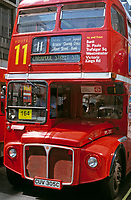 England, London: Doppeldecker-Bus   United Kingdom, London: double-decker bus