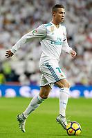 Real Madrid's Cristiano Ronaldo during La Liga match. November 5,2017. (ALTERPHOTOS/Acero)