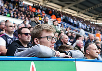 A Preston North End supporter during the match<br /> <br /> Photographer Andrew Kearns/CameraSport<br /> <br /> The EFL Sky Bet Championship - Reading v Preston North End - Saturday 30th March 2019 - Madejski Stadium - Reading<br /> <br /> World Copyright © 2019 CameraSport. All rights reserved. 43 Linden Ave. Countesthorpe. Leicester. England. LE8 5PG - Tel: +44 (0) 116 277 4147 - admin@camerasport.com - www.camerasport.com